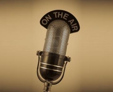 Training voor de radio