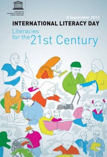 8 september: International Literacy Day