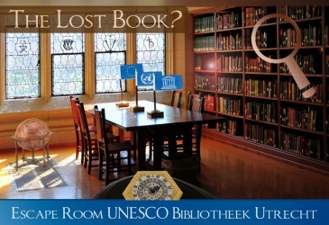 Escape Room UNESCO Bibliotheek Utrecht